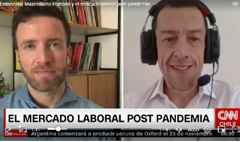 Maximiliano Hurtado mercado laboral post pandemia